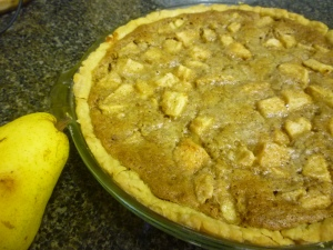 Bartlett Pear Pie